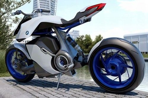 BMW HP Knust – Hydrogen Powered Bike, hydrogen the cheap efficient energy of the future that no one wants to use