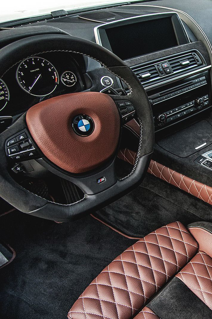 themanliness:  Custom BMW Interior | Source | MVMT | Facebook