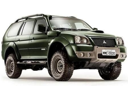 Mitsubishi Pajero Dakar Edition