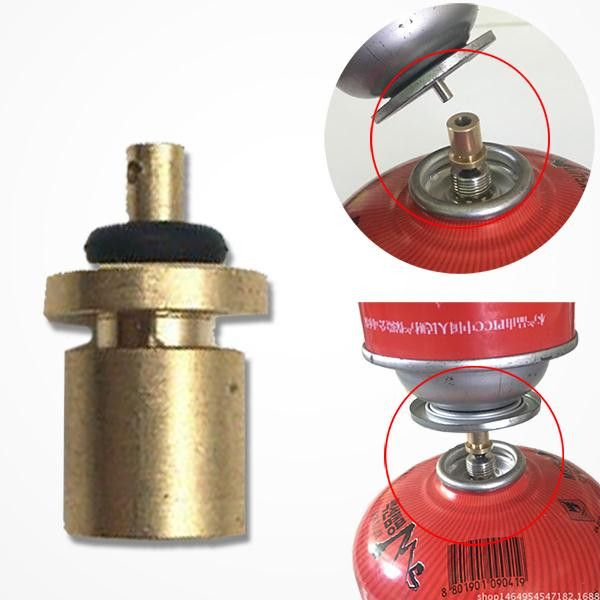 Outdoor Camping Gas Refill Adapter Filling Butane Canister