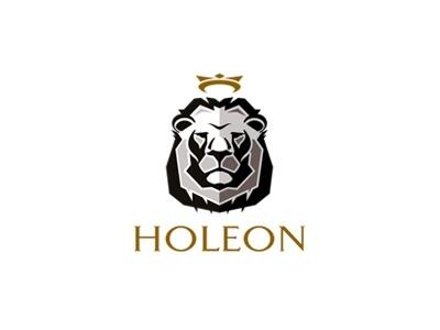 Holeon Icon Logo Lion Head Crown