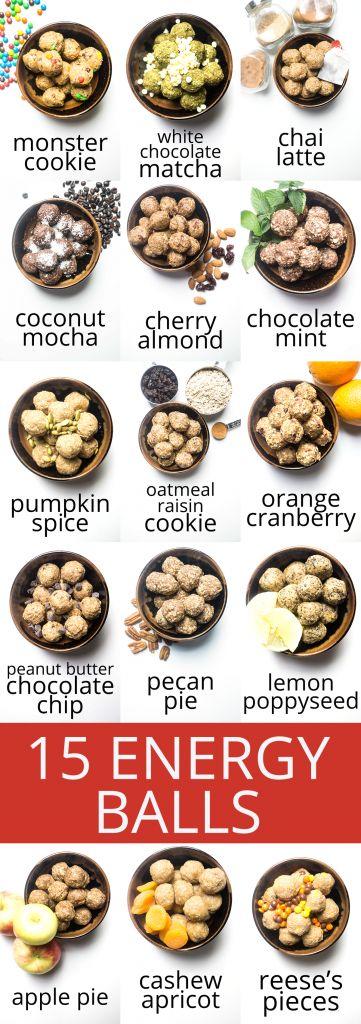 Energy balls: a low sugar, no bake, healthy snack! | #lowsugar | #healthy | #snack | #energyballs | #highproteinrecipes