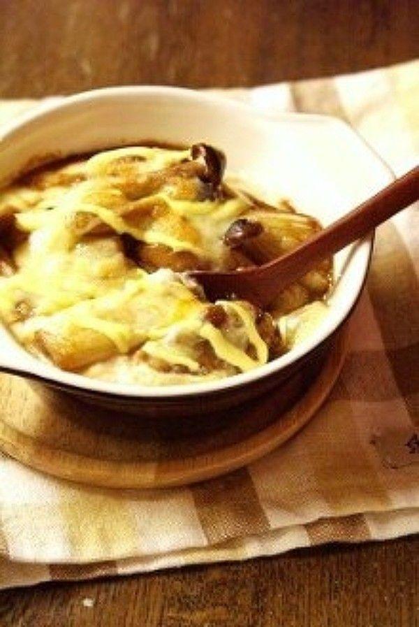 照りチキマヨドリア*お豆腐ホワイトソース