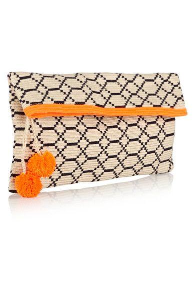 Sophie Anderson | Alder 4 crocheted cotton pouch | NET-A-PORTER.COM More