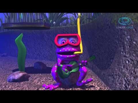 Estaba la rana sentada - Canciones infantiles - Cantatoo - YouTube