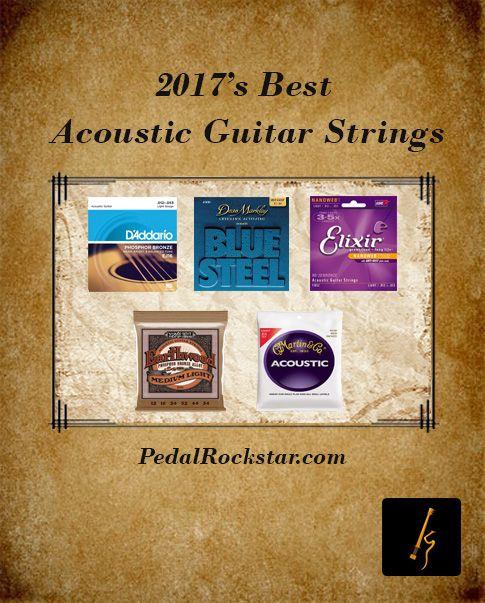 2017's Best Acoustic Guitar Strings