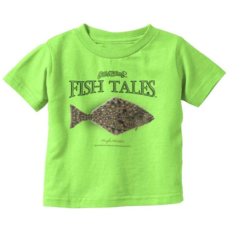 Pacific Halibut Toddler Infant T | pacific halibut antique fish print vintage art artwork illustration classic old aged streams rivers oceans sea righteye flounder flatfish north commercial sport fishing fisherman angler baby toddler infant boys girls clothes t-shirt tee top months