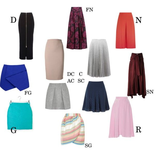 Essential skirt by Kibbe type by moara on Polyvore featuring polyvore, fashion…
