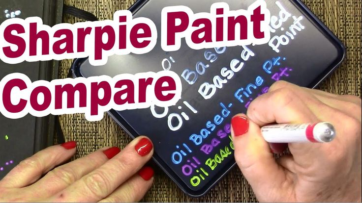 How To Unclog A Leaking Sharpie Oil Based Paint Marker
