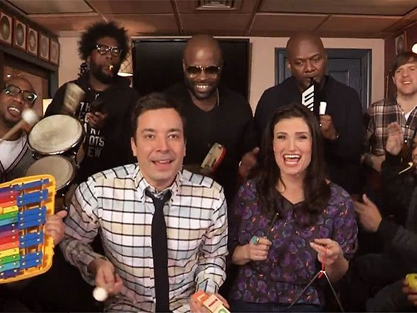 "Just for fun: Are your kids obsessed with this song? Here's another very cool Frozen version with Jimmy Fallon and The Roots for you on this Valley ""Frozen "" Day."