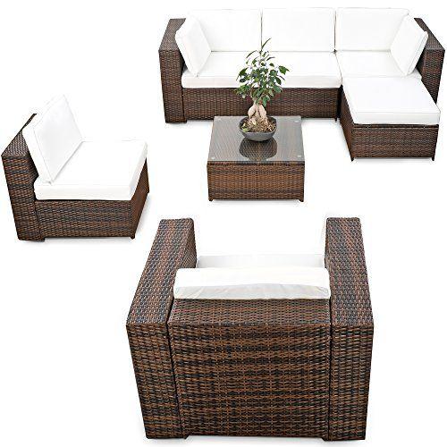 Die besten 25+ Polyrattan sofa Ideen auf Pinterest | Palettenböden ...