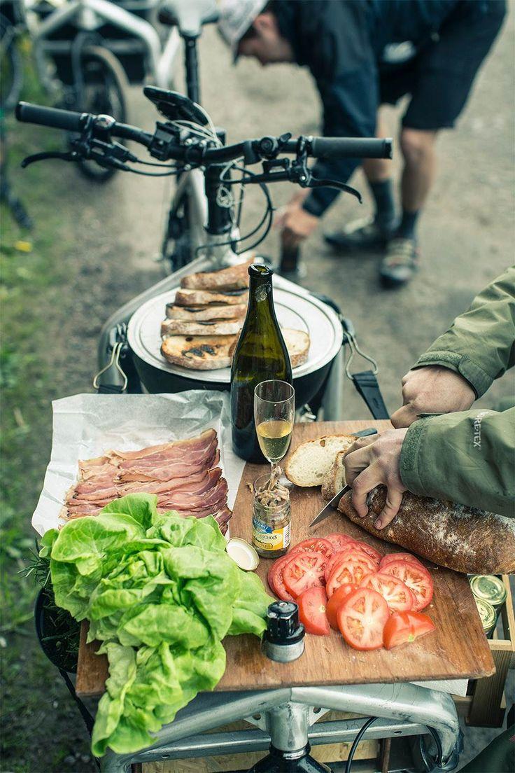 Sådan har du aldrig været på picnic før.