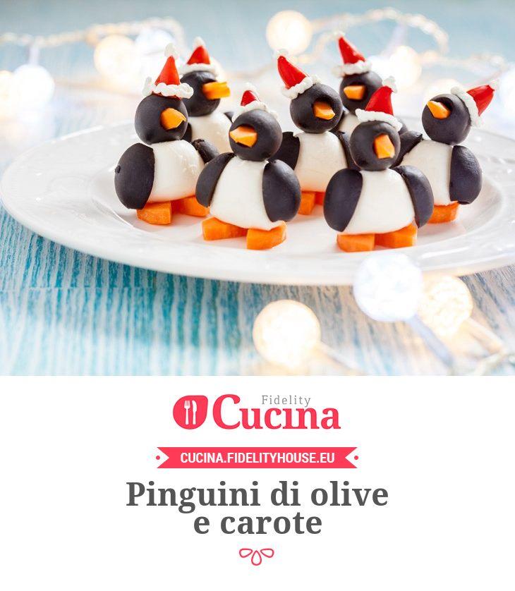 Pinguini di olive e carote