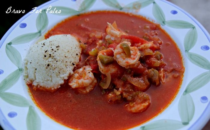 Paleo Shrimp Creole - Bravo For Paleo
