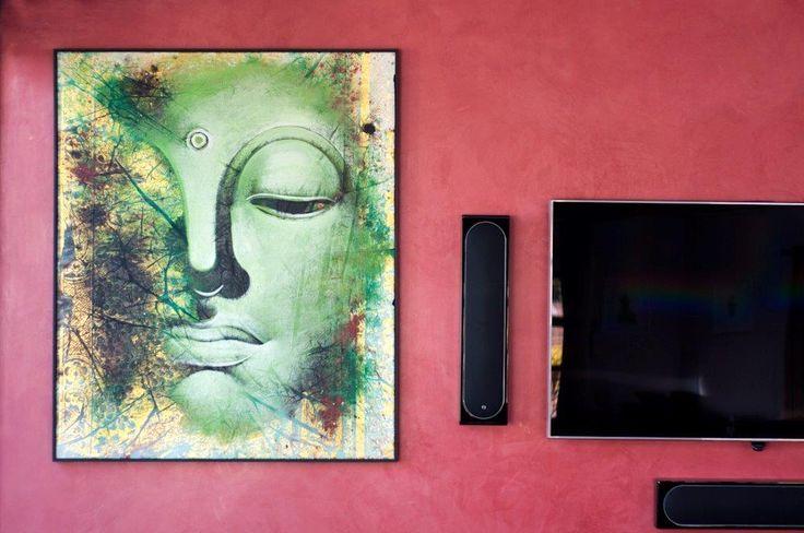 Earthcote pandomo colour BIG (midas 300) #PaintSmiths #homedecor #wallart #pinkideas