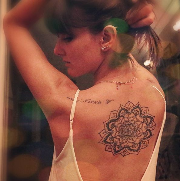 mandala back tattoo #ink #youqueen #girly #tattoos #mandala @youqueen