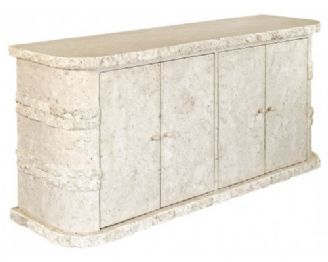 High Quality Mactan Stone Unique Rockedge Sideboard