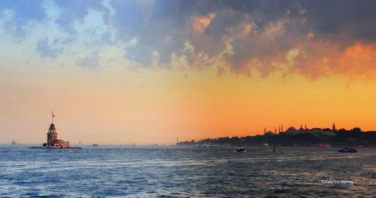 Clouds  and Istanbul - Bulutlar  ve İstanbul