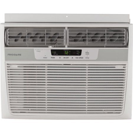 Frigidaire FFRA1211R1 12,000-BTU 115V Window Mounted Compact Air Conditioner with Remote Control, White