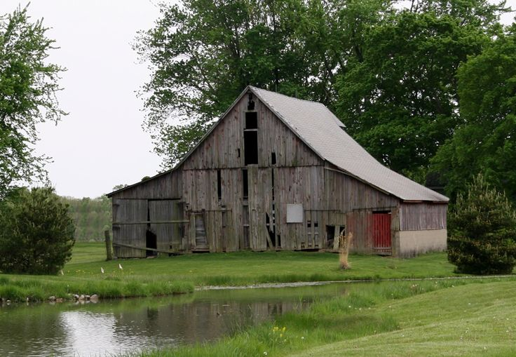 Beautiful Indiana Barn Lake Home Pinterest Beautiful