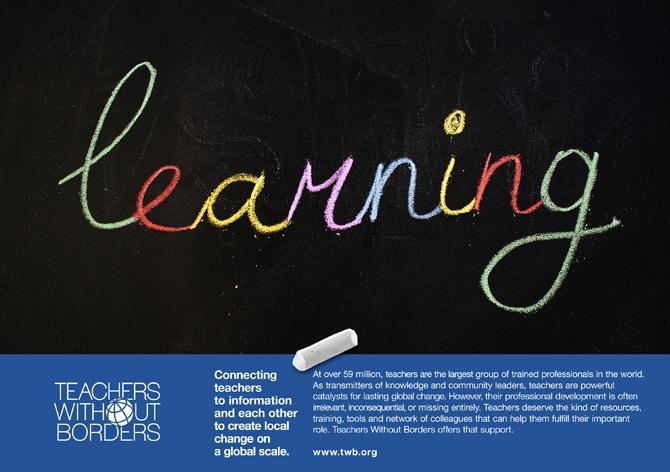 TWB. Teachers Day campaign / 2012 _ Irina Gliudza _ F A B R I C A