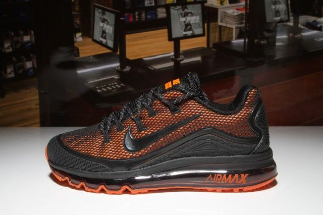 Mens Shoes Nike Air Max 2018 Elite KPU Black Orange