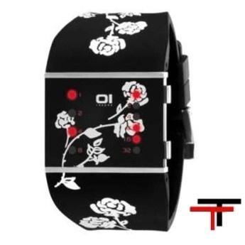 Relojes Binarios: Reloj Mujer Slim Square Negro   http://www.tutunca.es/reloj-mujer-slim-square-negro