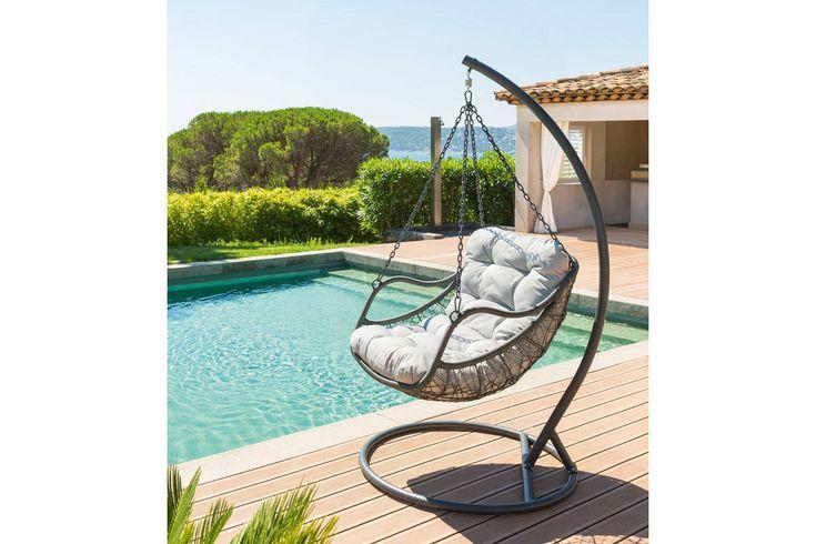 Les 25 meilleures id es concernant fauteuil oeuf suspendu sur pinterest cha - Fauteuil suspendu exterieur ...