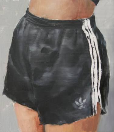 "Saatchi Art Artist Flavia Lugigan; Painting, ""Adidas"" #art"