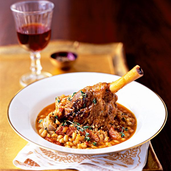 Gordon Ramsay's lamb shank cassoulet recipe is the kind of dish he'd serve at home – it's the perfect winter warmer.