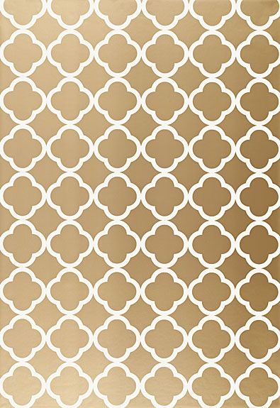 Wallpaper | Schumacher - Morocco - Antique Gold