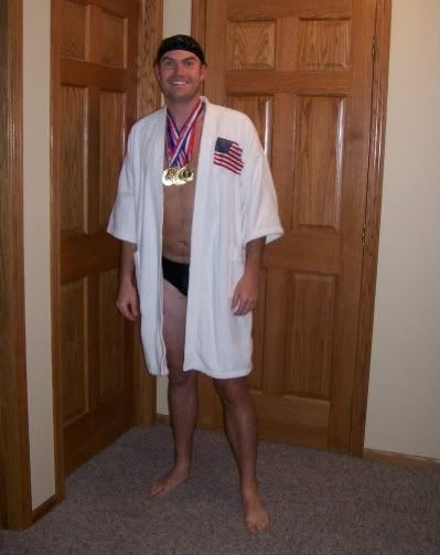 Michael Phelps Costume