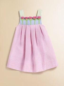 Toddler's & Little Girl's Seersucker Tulip Dress from Florence Eiseman