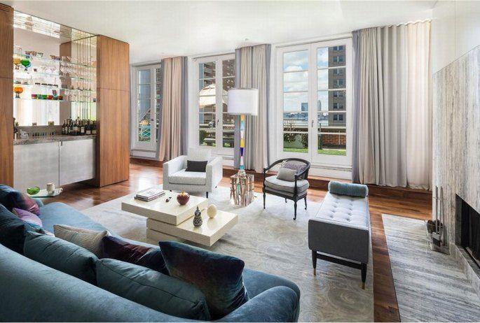 Xây dựng nội thất phòng khách căn hộ Penthouse 3