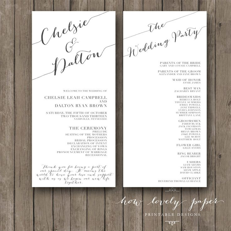 25+ beste ideeën over Examples of wedding programs op Pinterest - church program