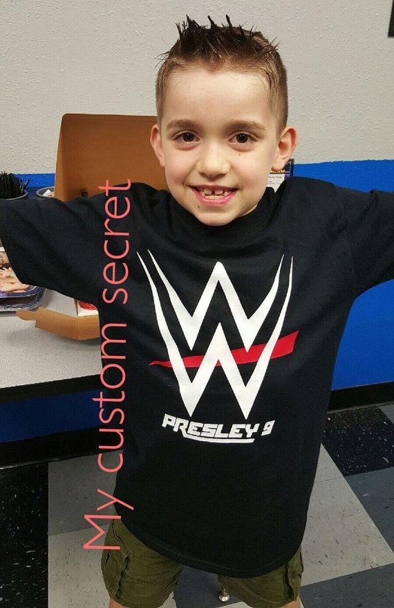 WWE birthday shirt by MyCustomSecret on Etsy