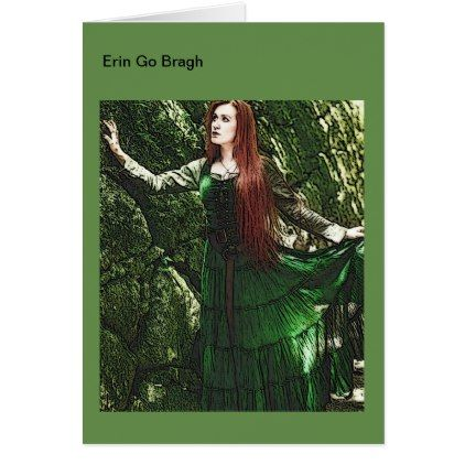 Erin Go Bragh Irish Greeting Card - saint patricks day st patricks holiday ireland irsih special party