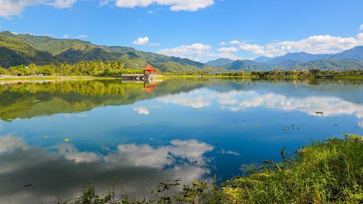 Zhongzheng Jezero, Krajina, Voda, Přehrada, Venkovní