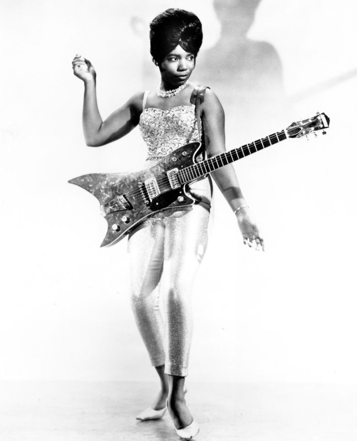 Bo Diddley's guitarist, Norma-Jean Wofford aka The Duchess