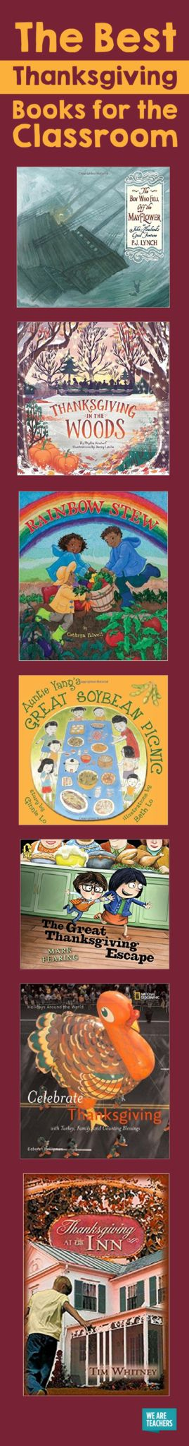 18 Great Thanksgiving Books for Kids and Classrooms