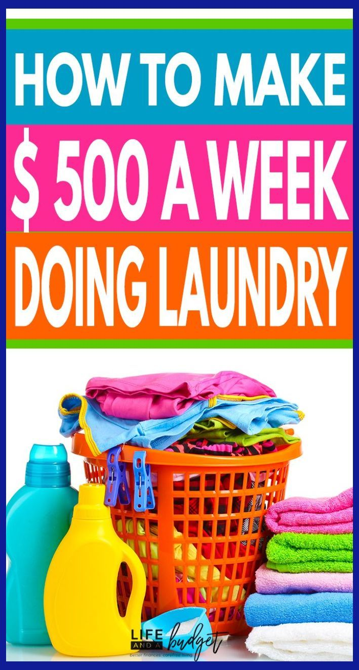 Make Extra Money With A Home Based Laundry Business Home Based