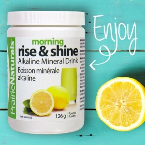 Start your day off with Morning Rise & Shine www.prairienaturals.ca