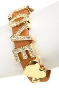 Accessories (13) love, diamond, bracelet. You can get similar to these bracelets with all sayings at Dillards