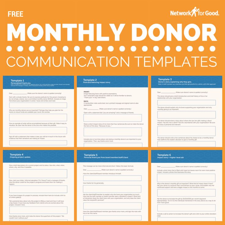 39 Best Donor Relations \ Retention Images On Pinterest   Donor List  Template  Donor List Template
