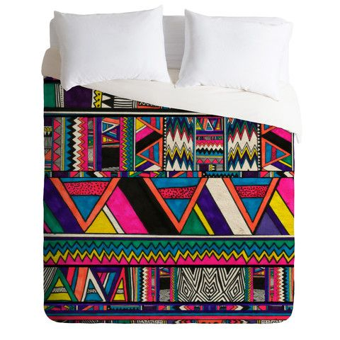 DENY Designs Home Accessories | Kris Tate Aztec Colors Duvet Cover--------------> Christmas gift?!!! i want NOW!!