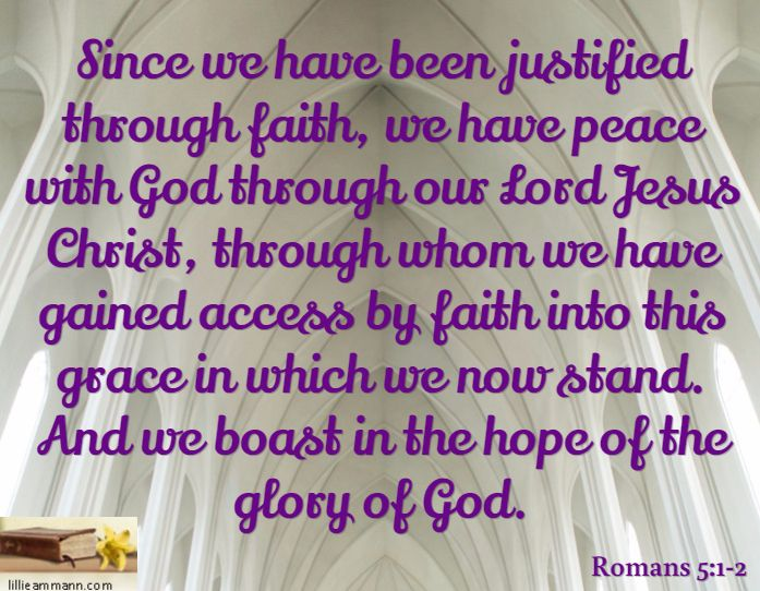 Image result for hope faith justification