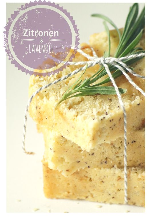Rezept für einen unschlagbar leckeren Zitronen-Lavendelkuchen