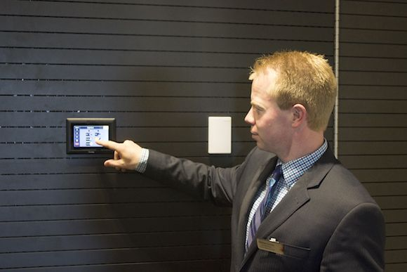 Extron's Touchlink touch screens provide room control at the Adelaide Convention Centre