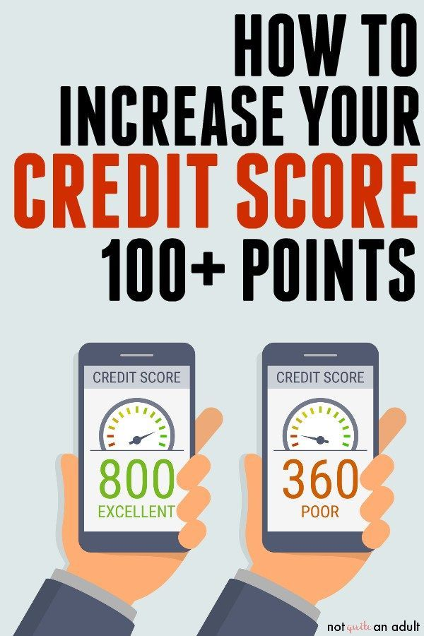 Increase Your Credit Score 100 Points Credit Score What Is