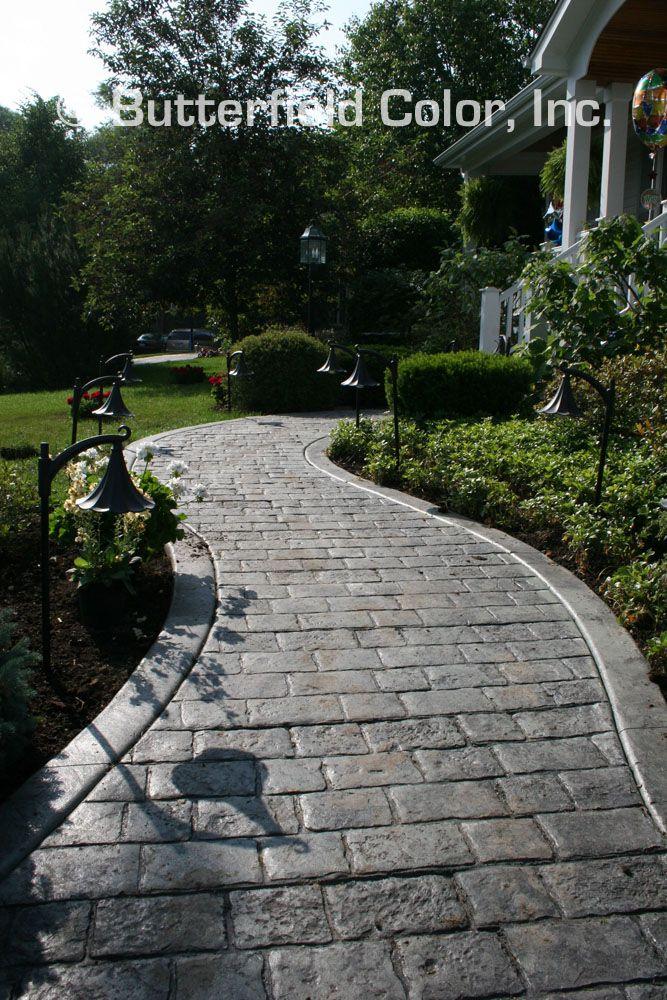 Mayan Cobblestone Walkway